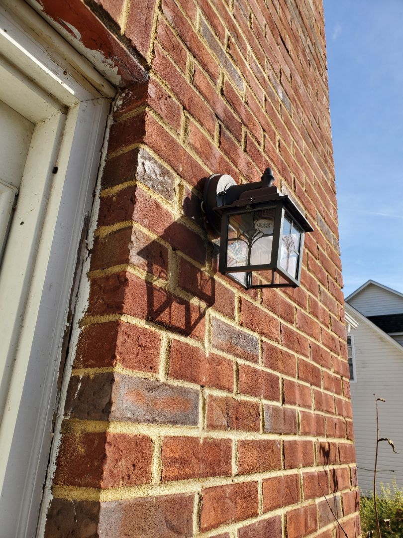 Stockbridge, GA - Customer had a flashing front door light. So we picked them up a new one and got it installed for them.