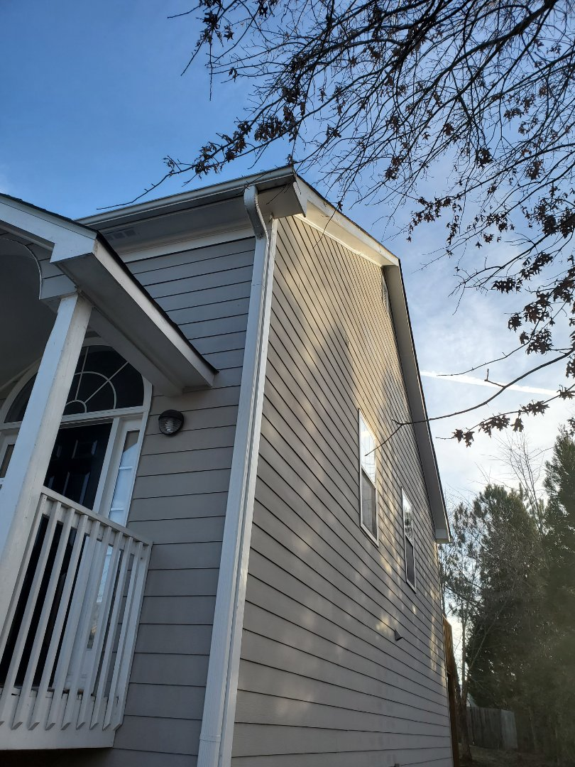 Marietta, GA - I helped a customer out with a quote for installing some receptacles in her eaves, that we can install some ring cameras to.