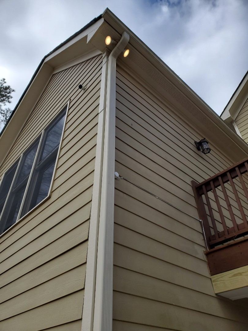 Fayetteville, GA - Installed some ring cameras for a customer on the sides of their home.