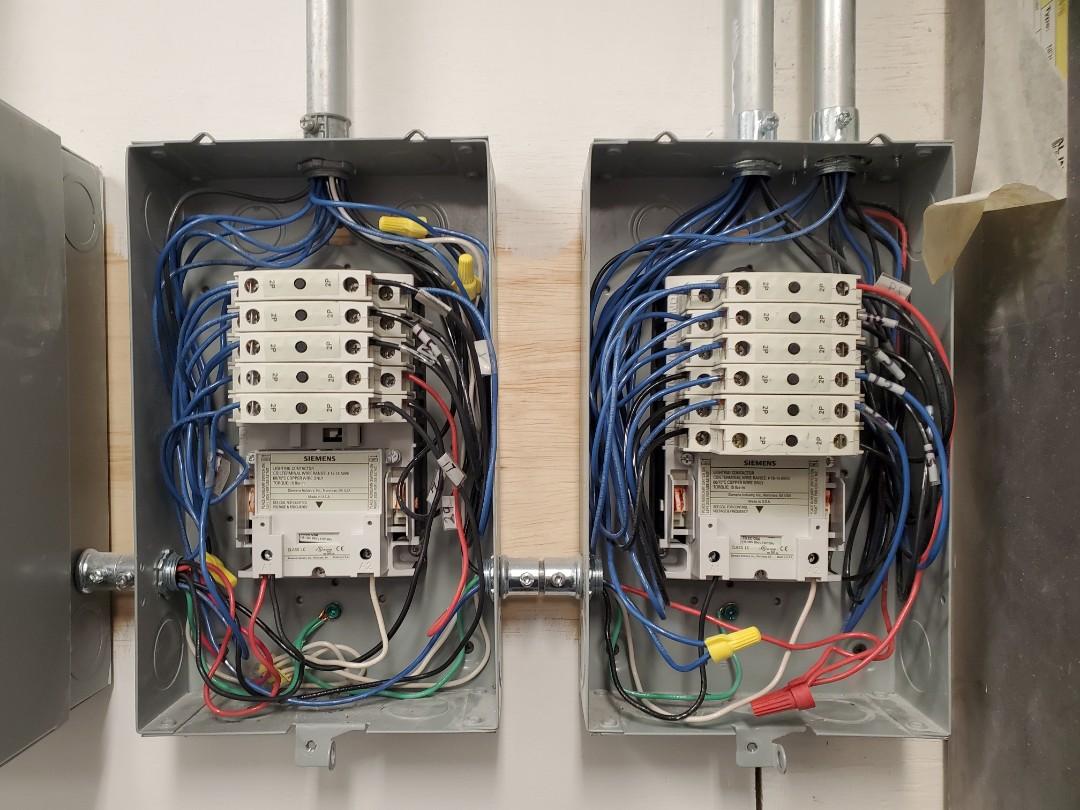Atlanta, GA - Replace a couple lighting contactors for a customer.
