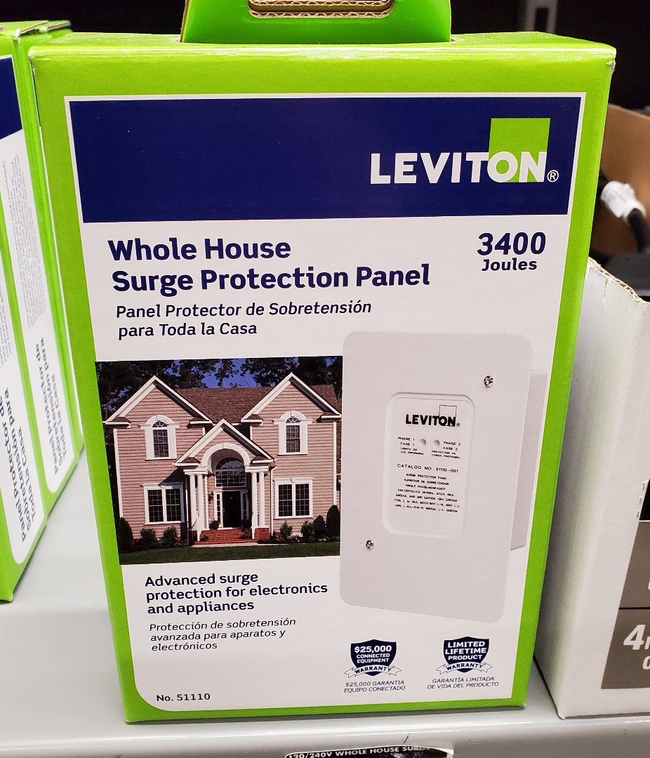 Dunwoody, GA - Installing a whole home surge protector it's one of the best ways to protect all your electronics at home.