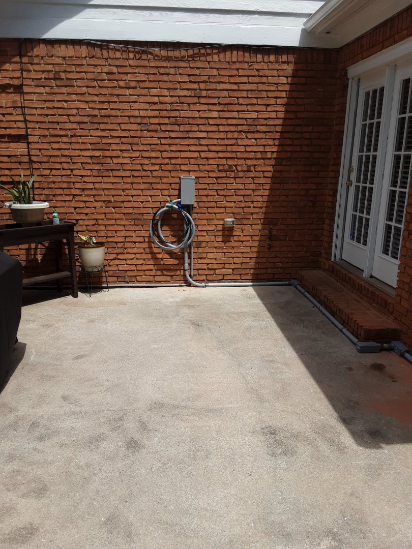 Fayetteville, GA - Finished up and install or power to a customer's hot tub