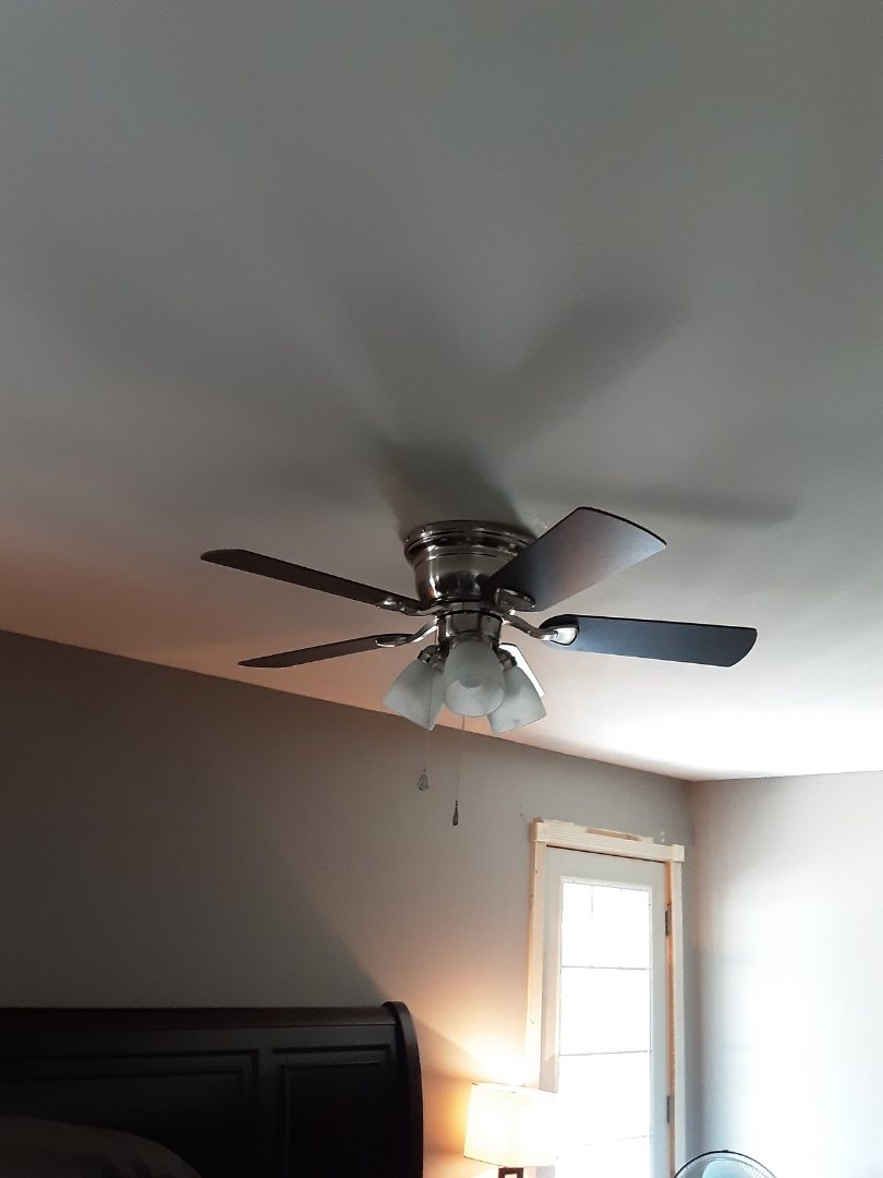 Fayetteville, GA - Installed a new cieling fan and some outdoor lights for a customer