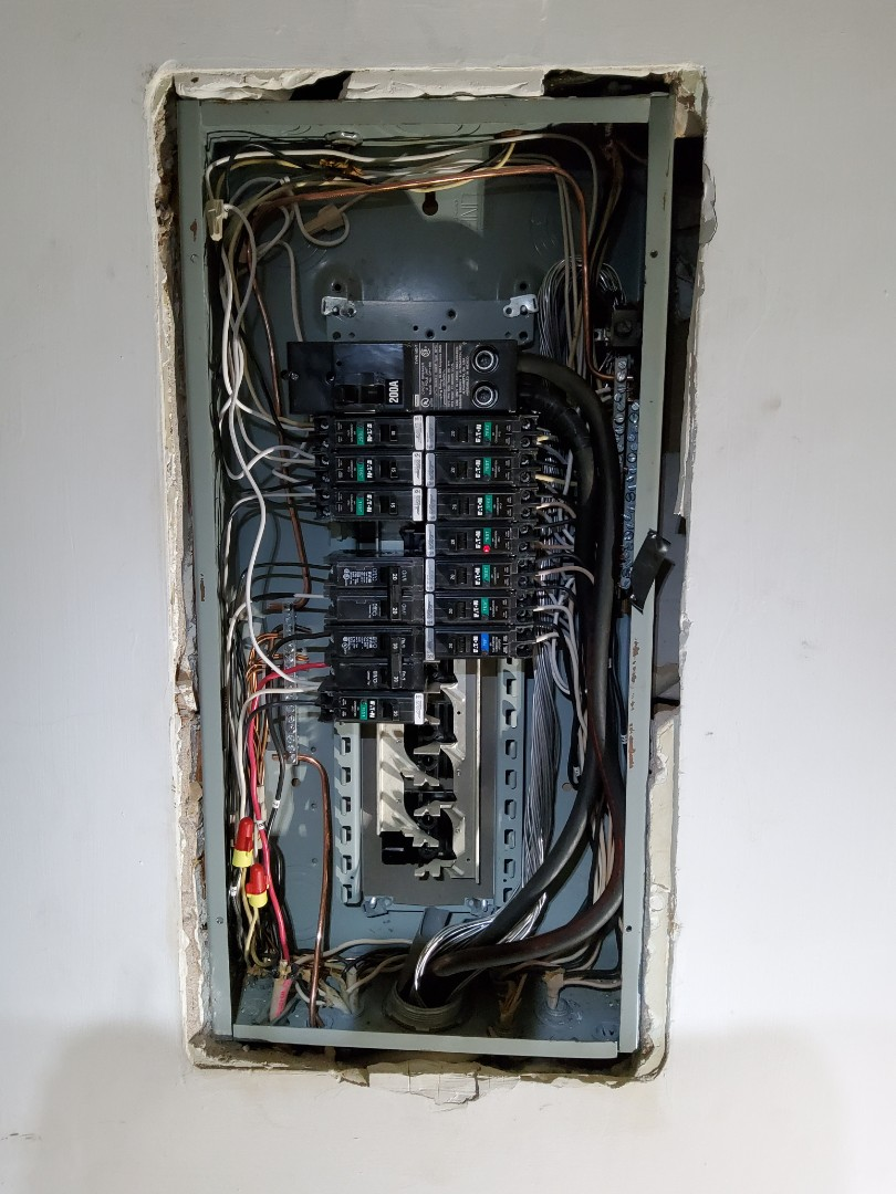 Decatur, GA - Updated a breaker panel with AFCI protection and a full grounding system for the home.