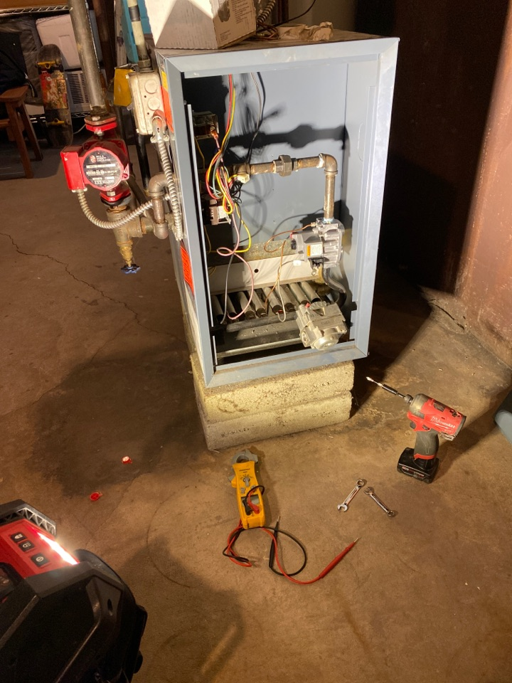 Cicero, IL - Boiler Electronic Gas Valve Replacement.