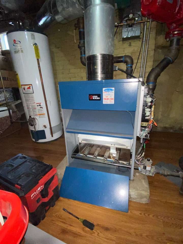 River Forest, IL - Heating Preventative Maintenance On Boiler System. It Is Never Too Late To Get Your Heating System Serviced. Book Your Appointment Now At #FricoldHC