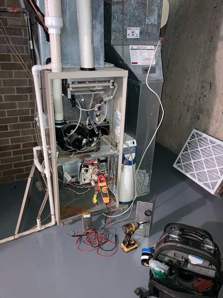 Wood Dale, IL - Furnace setvice and repair!