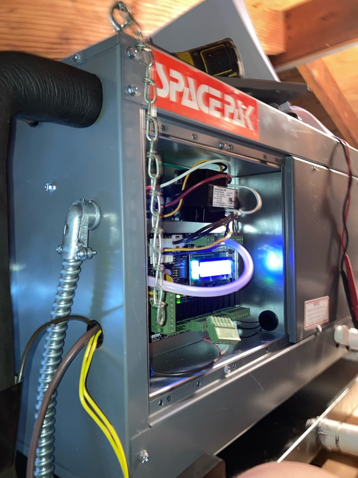 Melrose Park, IL - New High velocity Air Conditioning system Installation