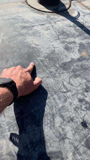 Fort Collins, CO - Commercial roof inspection, Commercial rubber roof