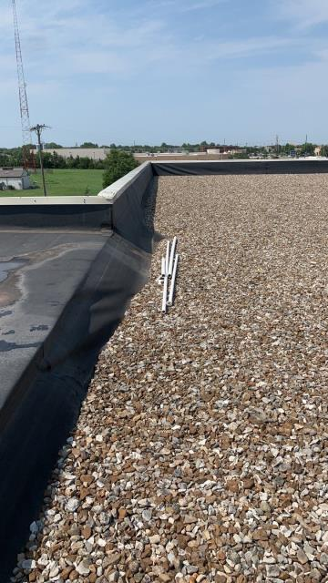Wichita, KS - Commercial roof inspection, commercial roofing