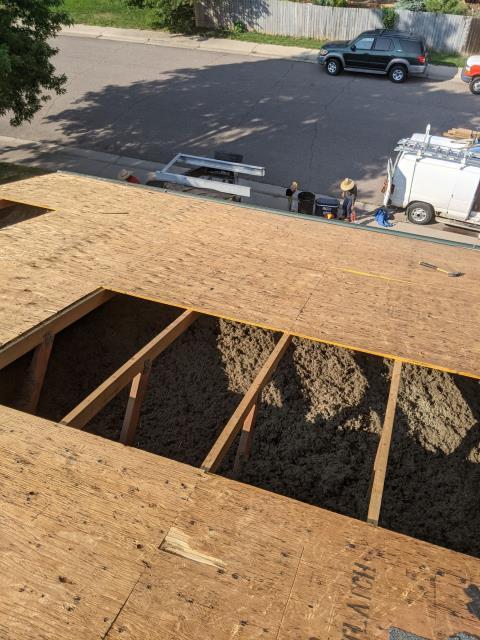 Littleton, CO - Roof repair
