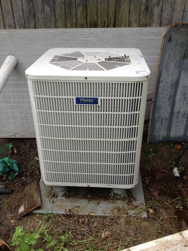 De Kalb, TX - Air conditioning tune up for Haier heat pump