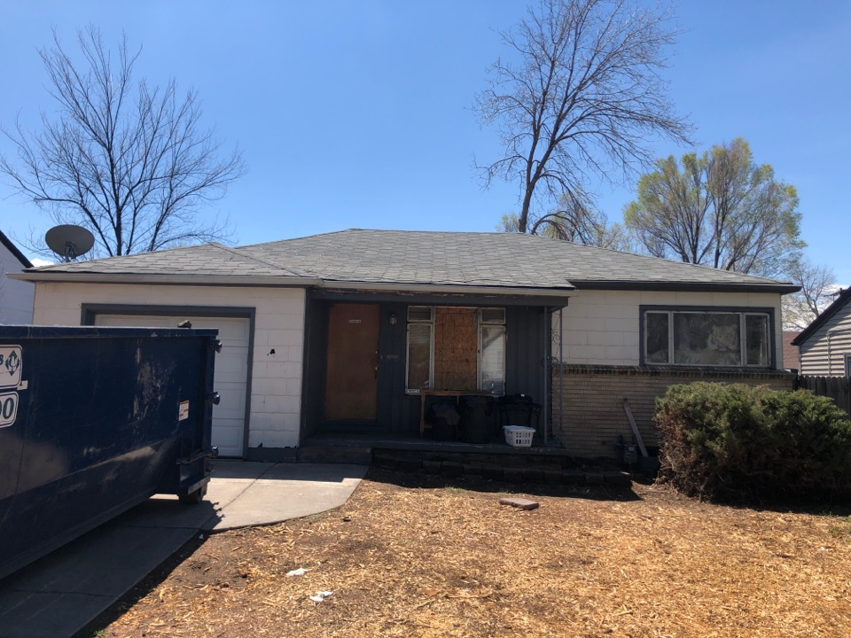 Englewood, CO - Evaluation a roof for replacement. Multiple layers to be removed on this remodel in Denver.