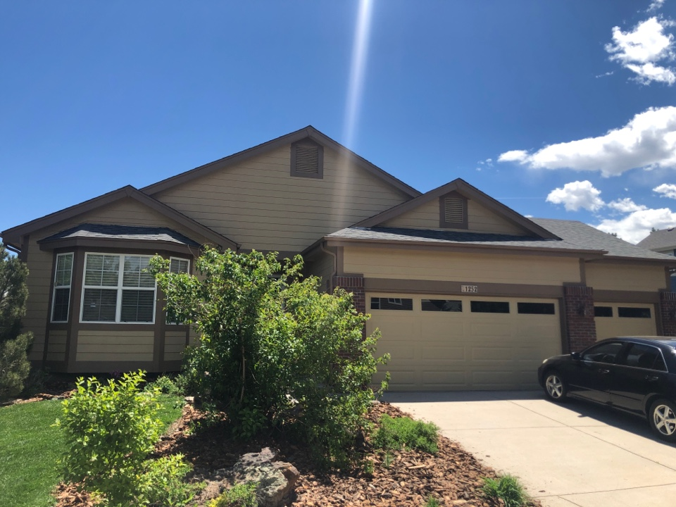 Castle Rock, CO - We were called to investigate why a roof was leaking in Castlerock Colorado.