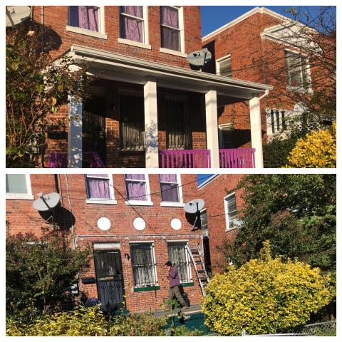 Washington, DC - New porch with curb appeal! 617 RittenHouse  Street NW Washington DC , 20011