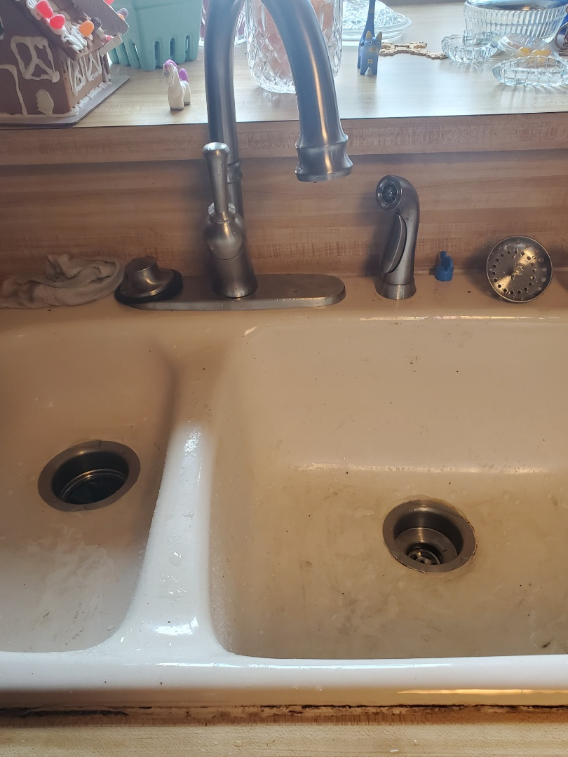 Lewisville, TX - Plumber near me; Install faucet and sink strainer near me