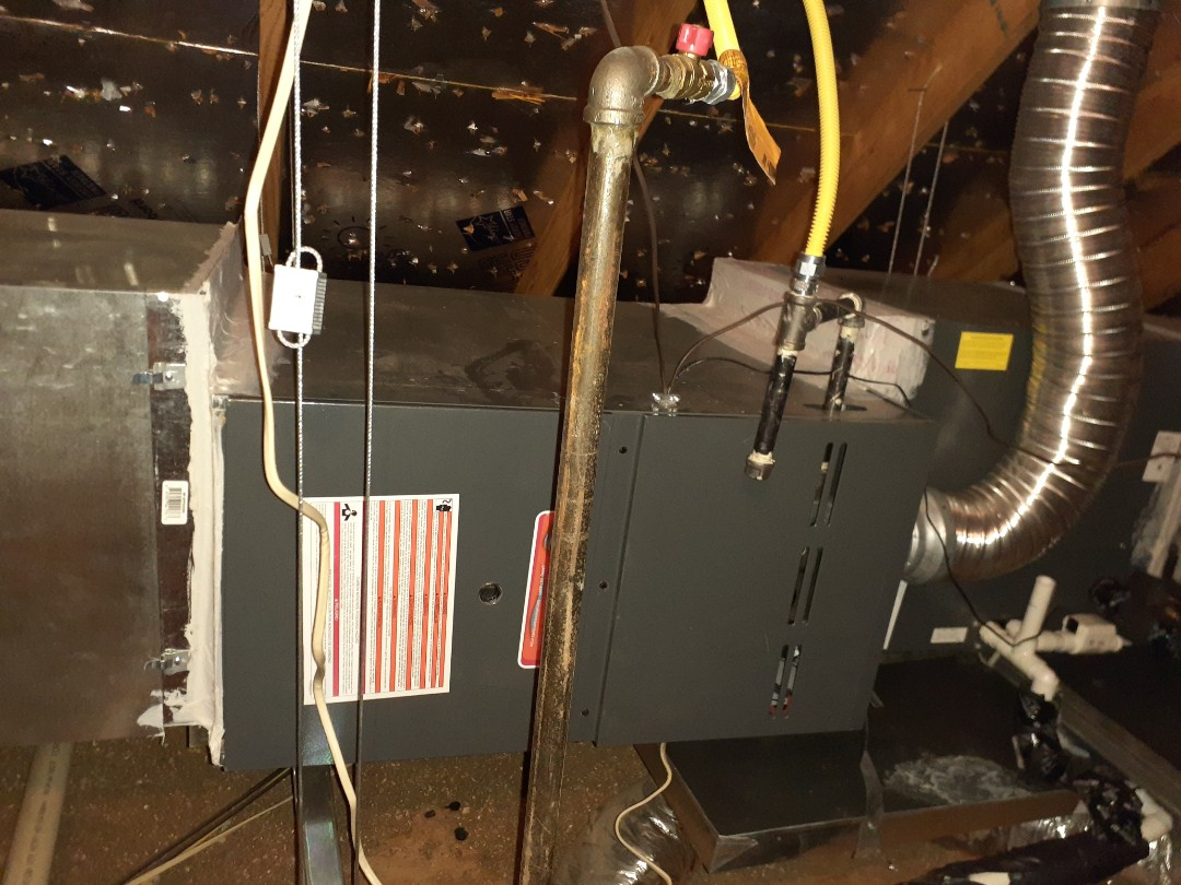 Lantana, TX - Spring maintenance on 2 Force Home Service hvac systems