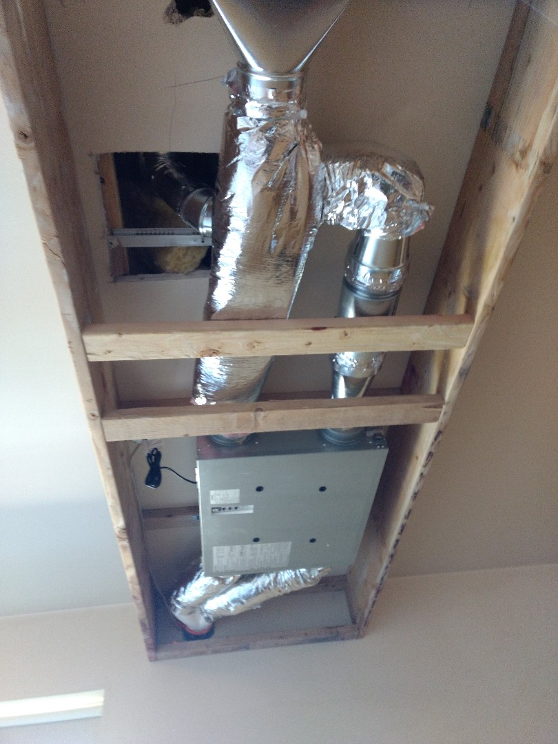 Burien, WA - Energy recovery ventilation system for 2 bedroom apartment