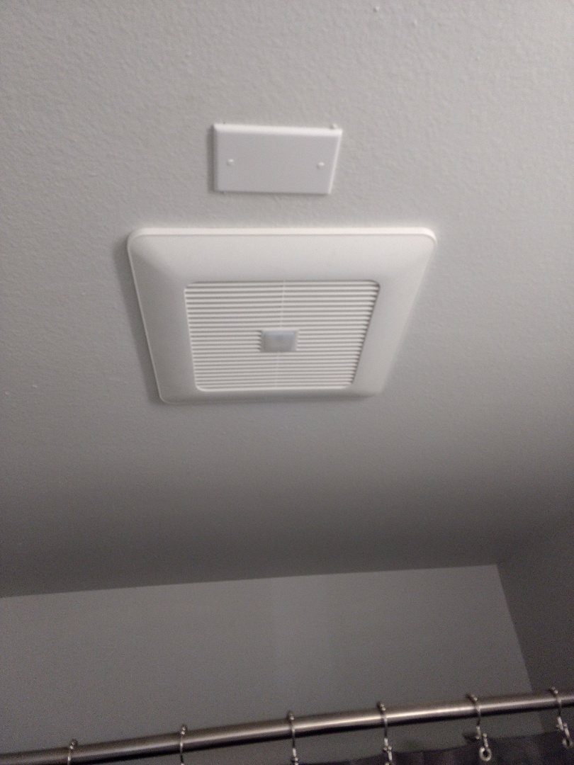 Kent, WA - Bathroom fan install