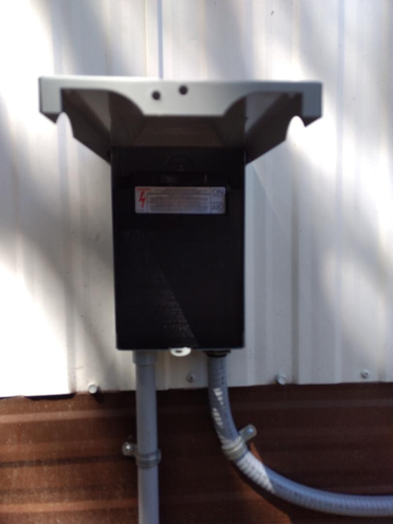 Lakewood, WA - Brand new circuit for Mitsubishi ductless heat pump