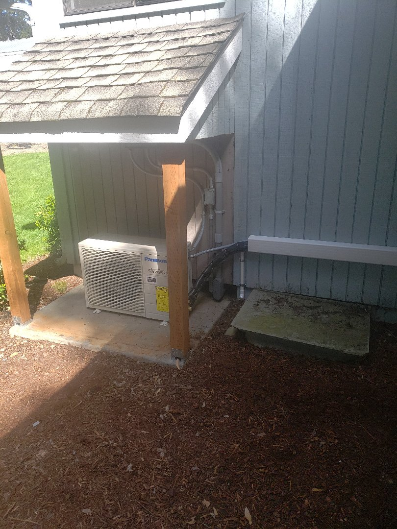 Tacoma, WA - Installed Panasonic 12k heatpump.