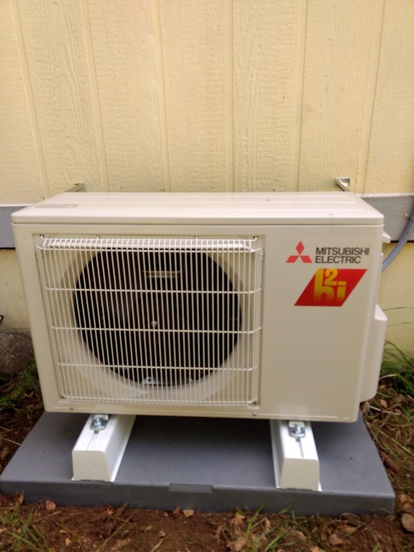 Sumner, WA - Mitsubishi ductless heat pump installation