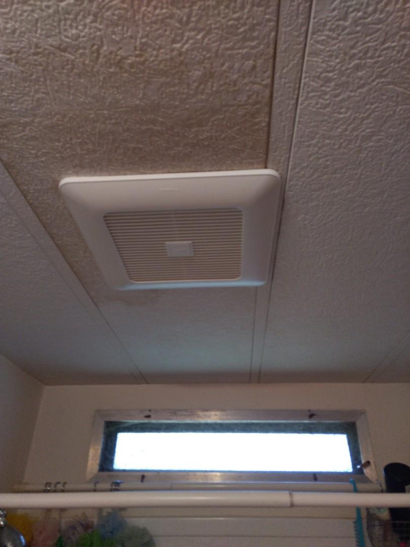 Sumner, WA - Panasonic bathroom fan installation