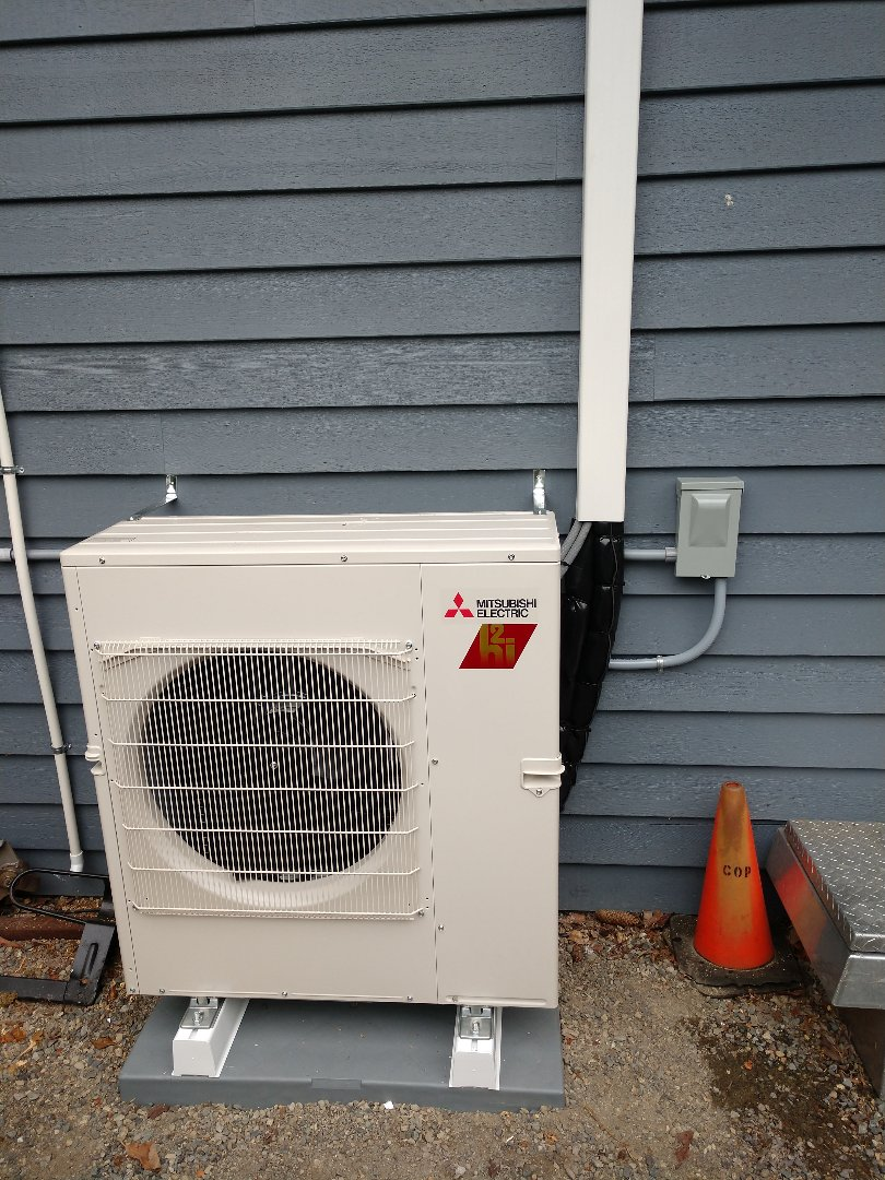 Puyallup, WA - Heat pump installation
