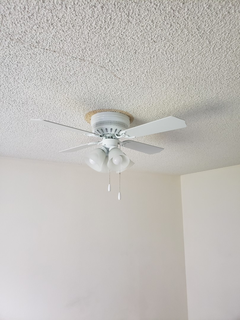 Lakewood, WA - New ceiling fans with support bracket to carry the weight of the fan.
