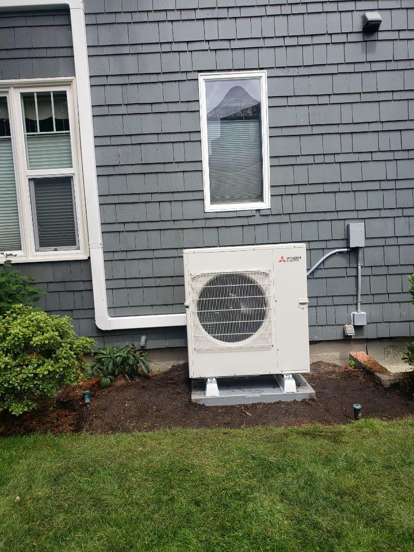 Tacoma, WA - Install mitsubishi heat pump