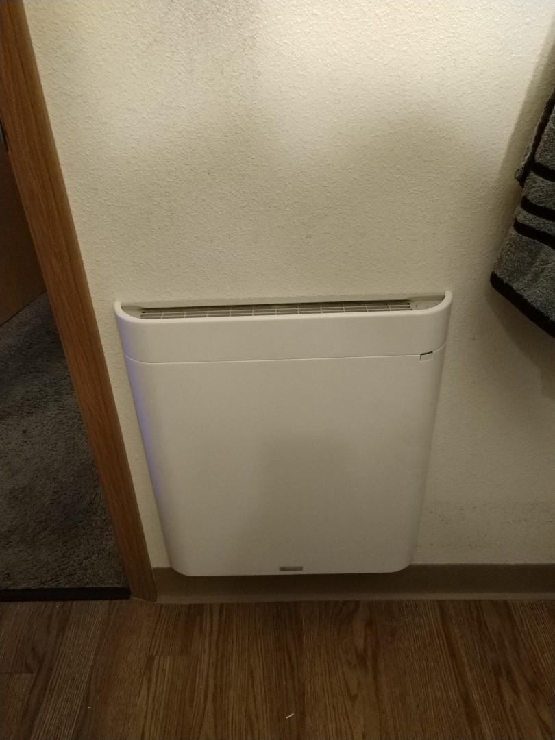 Tacoma, WA - Envi wall heater install