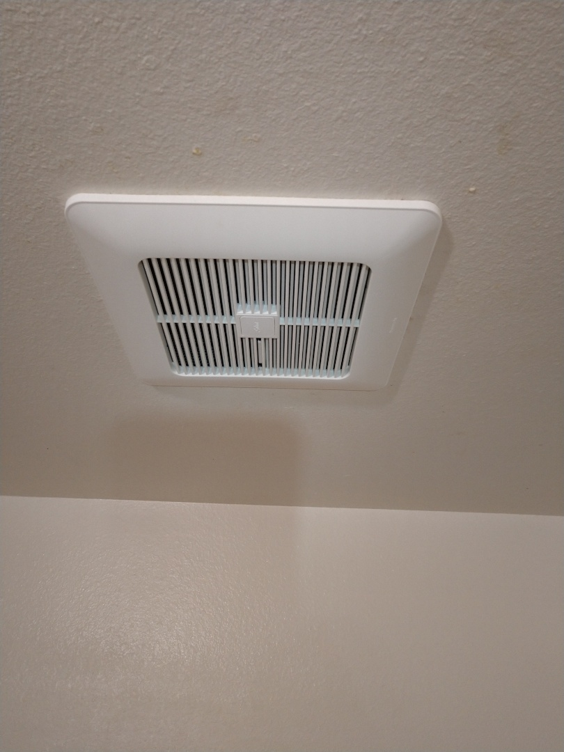 Lakewood, WA - New Panasonic bathroom fan installation