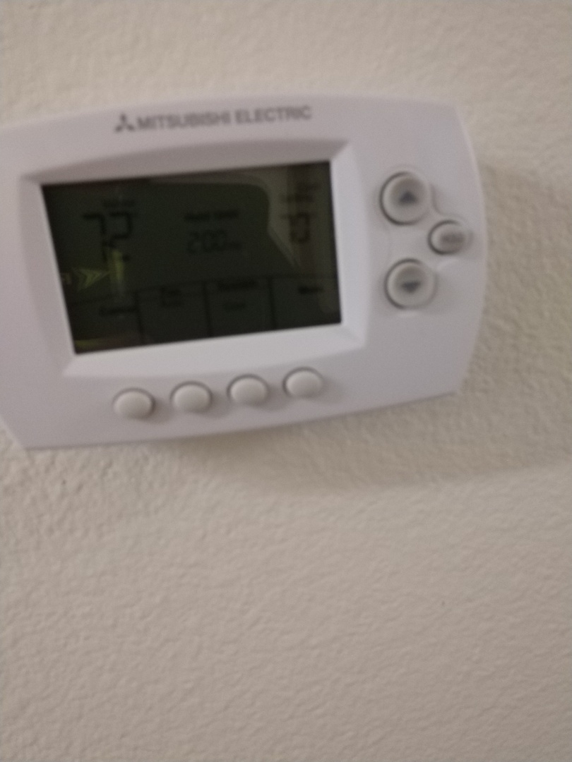 Tacoma, WA - Mhk1 wireless Mitsubishi thermostat install