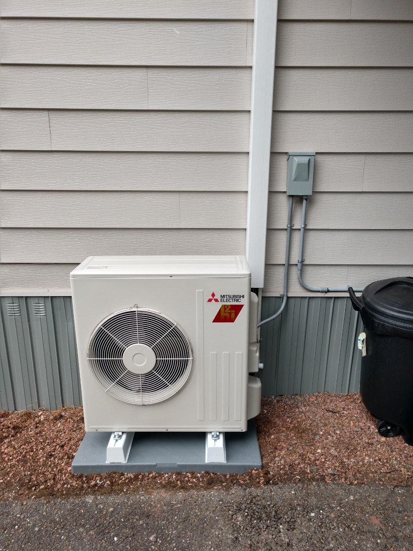 Tacoma, WA - Heat pump installation