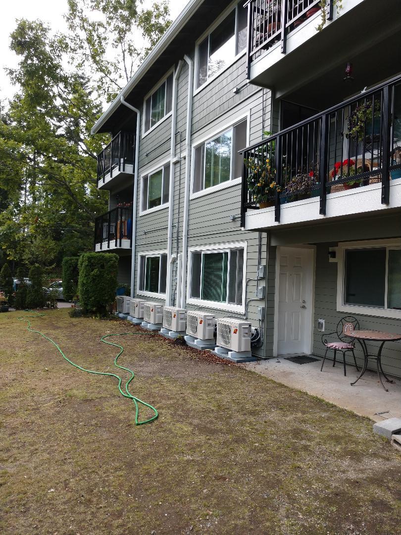 Gig Harbor, WA - Multifamily Mitsubishi hyper heat job. Changing people's lives!