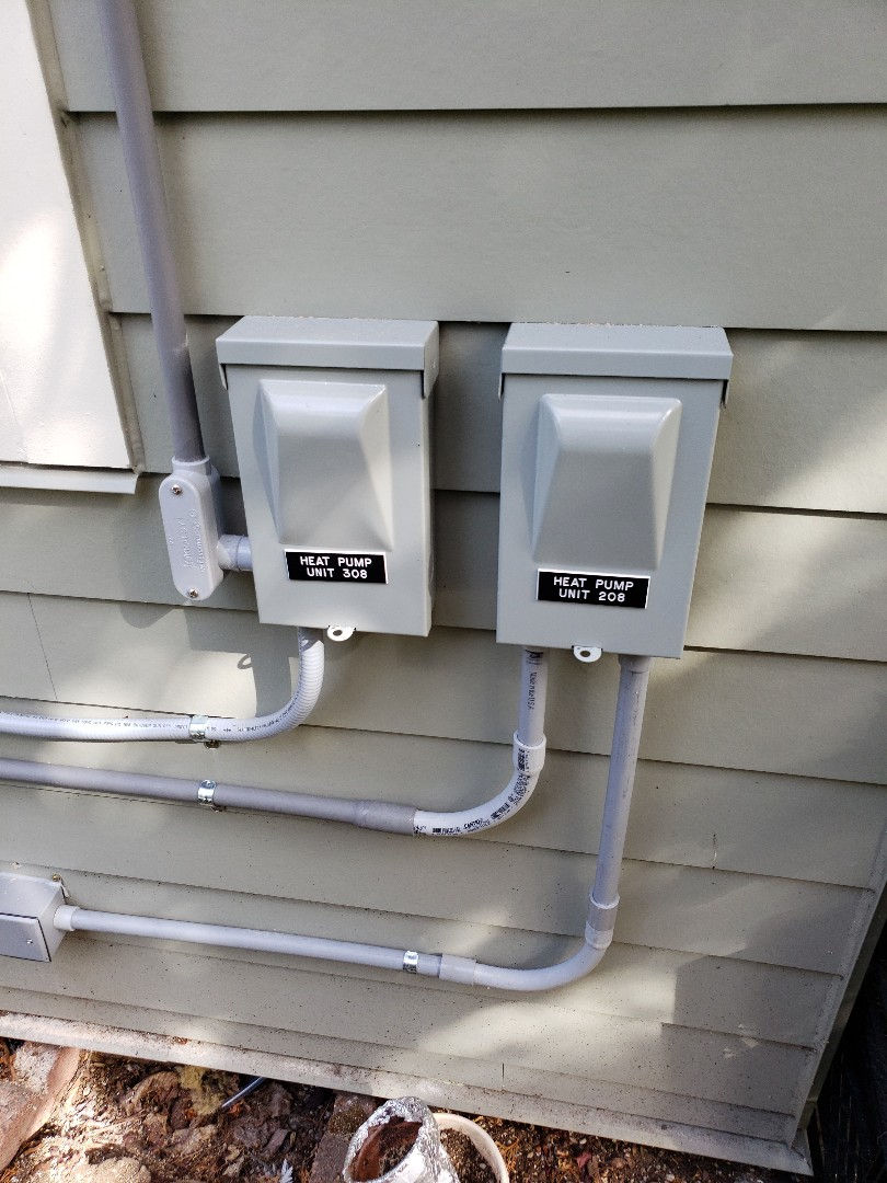 Gig Harbor, WA - Installing electrical for Mitsubishi heat pumps