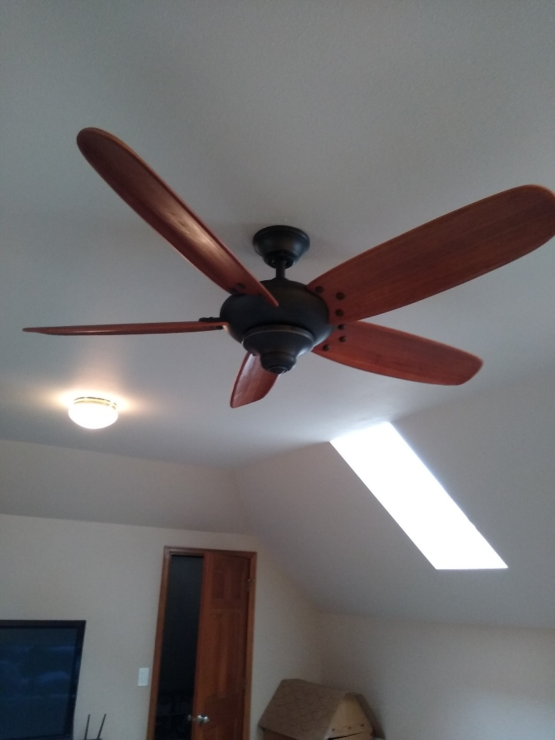 Kent, WA - New ceiling paddle fan