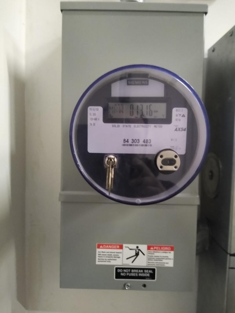 Olympia, WA - New meter and meter hub