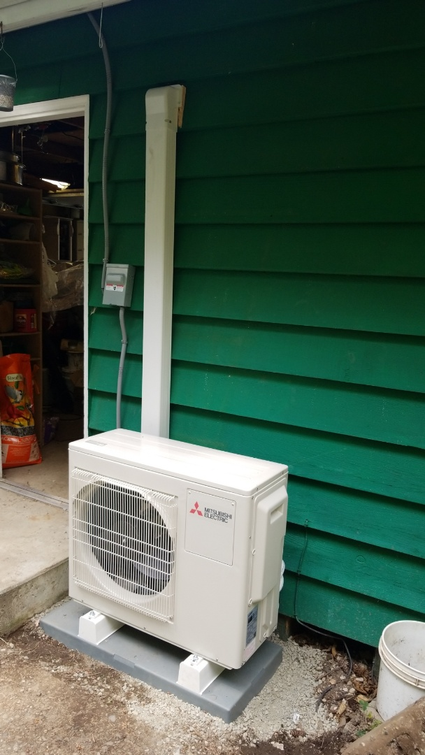 Tacoma, WA - Installing 2 head ductless system