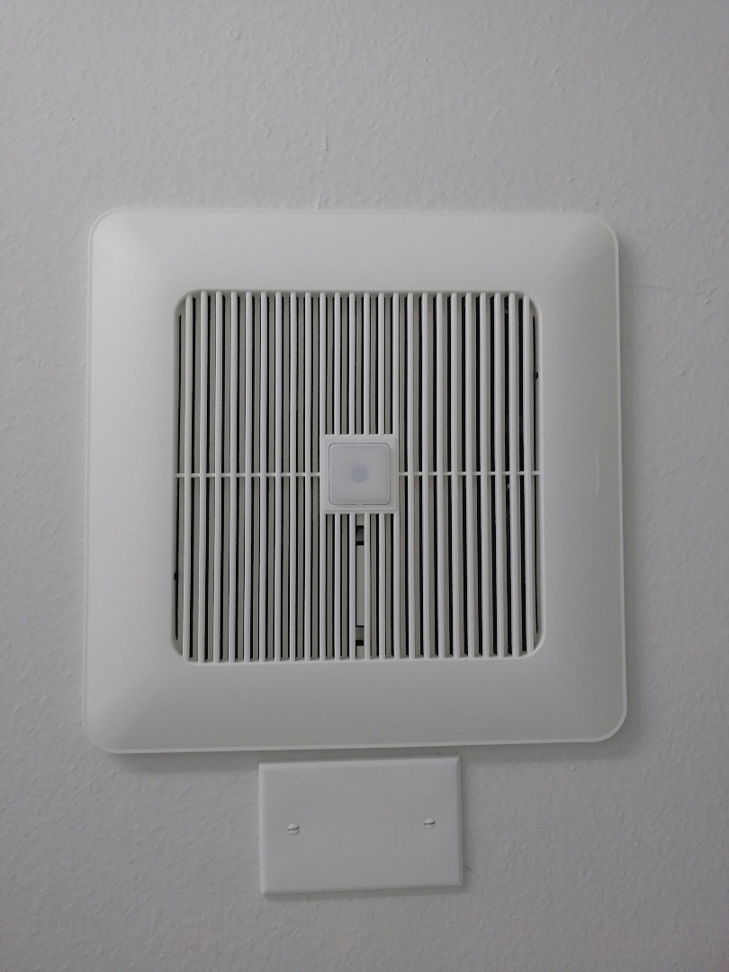 Kent, WA - Whisper green fan installation for Driftwood Apts. with motion sensors.
