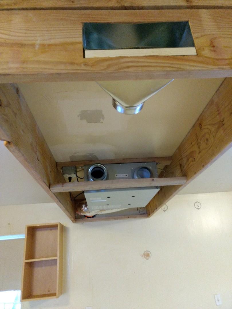 Burien, WA - Ventilation system installation