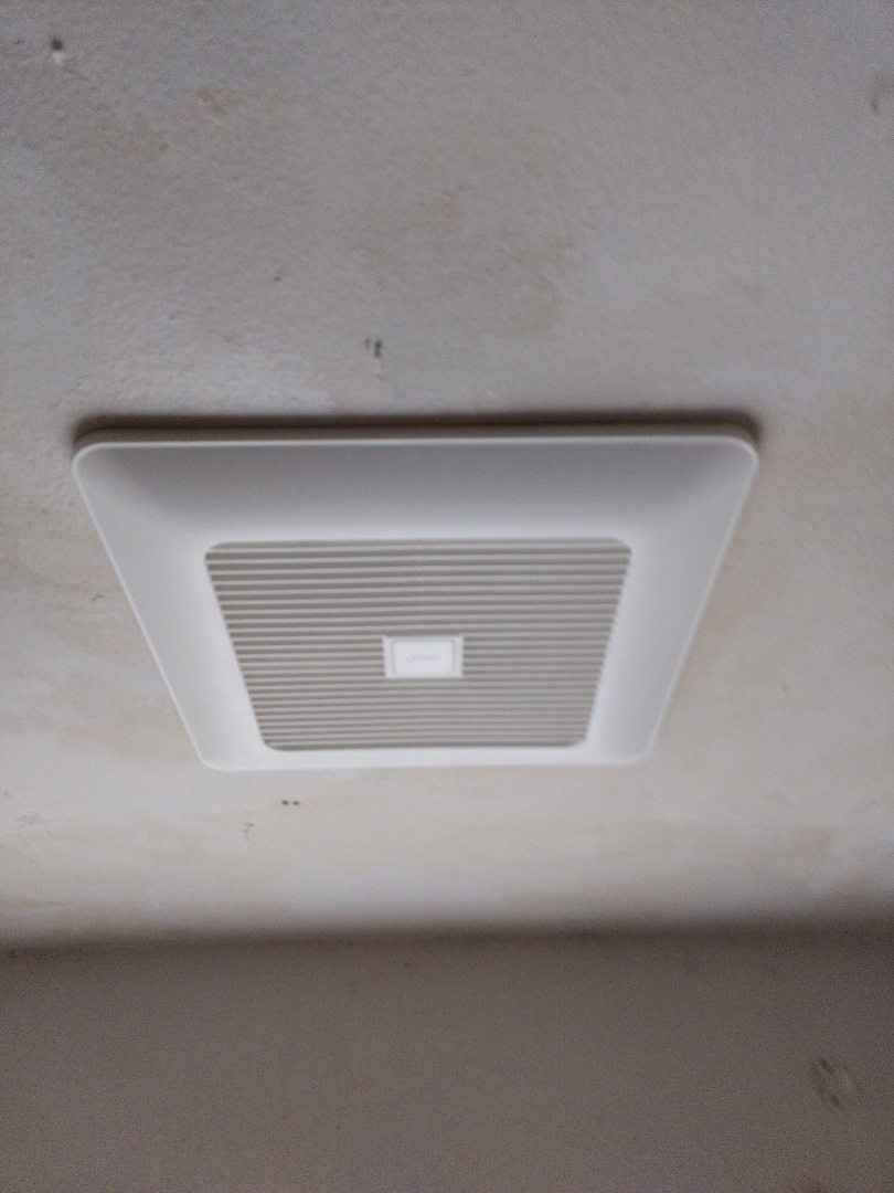 Spanaway, WA - New energy-efficient Panasonic bathroom fan installation