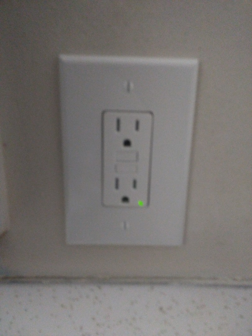 Spanaway, WA - Installation of GFCI outlets in kitchen and bathroom