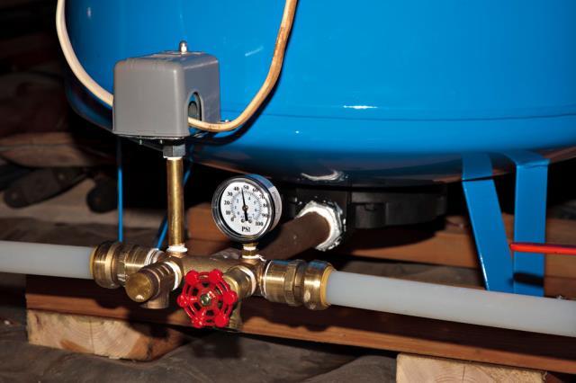 Elmwood Park, NJ - Air pressure repair.