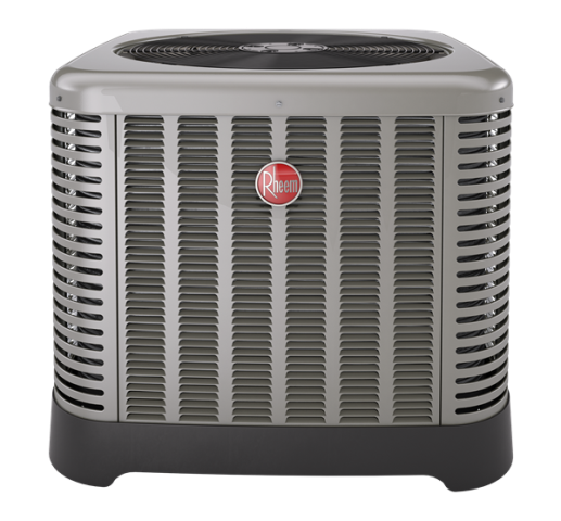 Haworth, NJ - Super Plumbers Heating and Air Conditioning installed a Rheem RA14 Classic AC