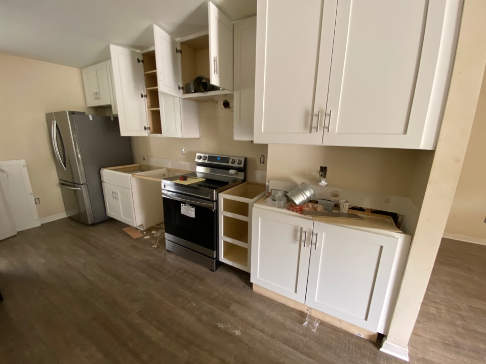 Raleigh, NC - Renovating kitchen with new cabinets and countertops