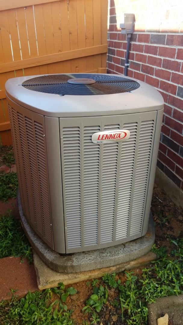 AC maintenance call. Preformed AC tune up on Lennox system.