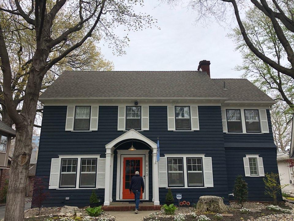 Kansas City, MO - Roof inspection Brookside