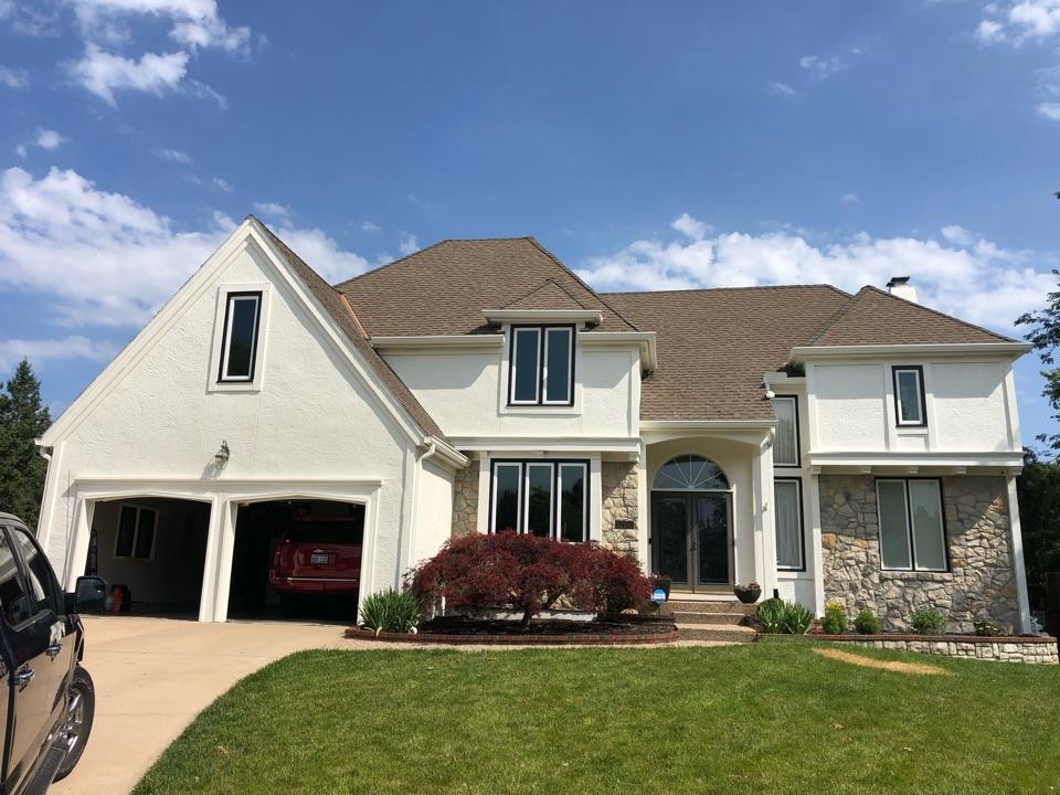 Leawood, KS - Storm damage and insurance claim