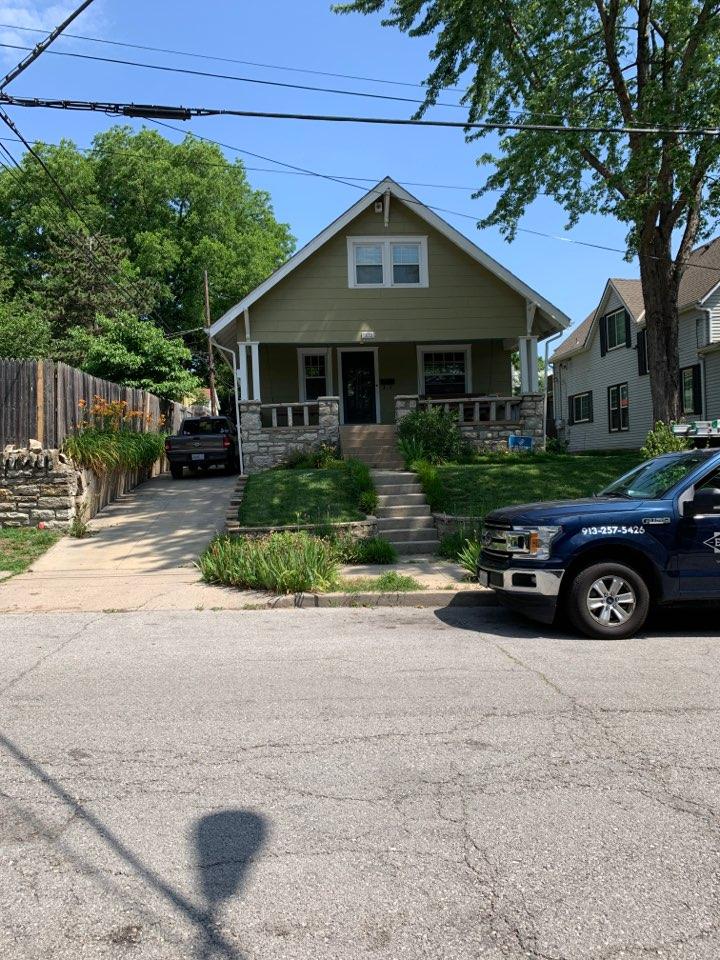 Kansas City, MO - Roof repair estimate.